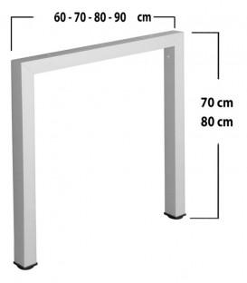 Πόδι τραπεζιού Τετράγωνο Π 5x5cm