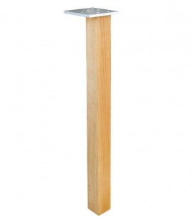 Πόδι τραπεζιού Τετράγωνο Ξύλινο 5x5cm