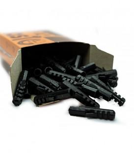 Βύσματα Απλά No 14mm Μαύρα