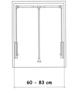 Ασανσέρ Ντουλάπας 60-83cm ECO