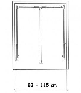 Ασανσέρ Ντουλάπας 83-115cm ECO
