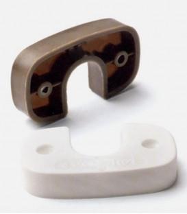 Στήριγμα Πλαστικό Στρογγυλής Σωλήνας Ø19