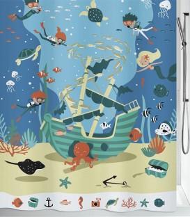 Κουρτίνα Μπάνιου Pirates