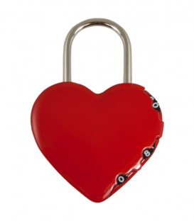 Λουκέτο Συνδιασμού Καρδιά