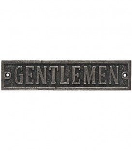 Ένδειξη WC Gentlemen No 456