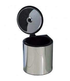 Δοχείο INOX Απορριμάτων με Σχοινάκι 10it