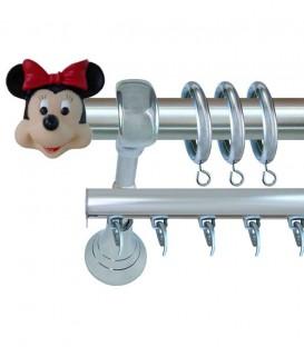 Κουρτινόβεργα Minnie Mouse - Φ25