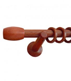 Κουρτινόξυλο Ξύλινο CYLINDRO - Φ28