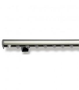 Σιδηρόδρομος Αλουμινίου Οβάλ Κομπλέ 23mm Τοίχου-Οροφής