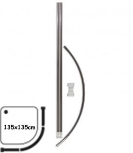 Κοντάρι Μπάνιου Οβάλ 135x135cm