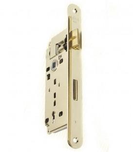 Κλειδαριά Μεσόπορτας Χρυσή Οβάλ 75-45mm