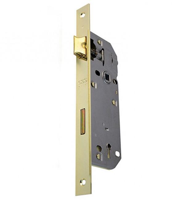 Κλειδαριά Μεσόπορτας Χρυσή Τετράγωνη K45-90mm