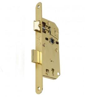 Κλειδαριά Μεσόπορτας Χρυσή Οβάλ K40-90mm Eco Line