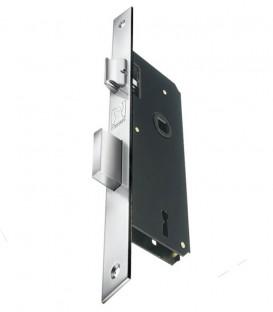 Κλειδαριά Μεσόπορτας Νίκελ Ίσια K40-75mm
