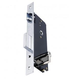 Κλειδαριά Export Ασφαλείας Νίκελ Ίσια K45mm-85mm