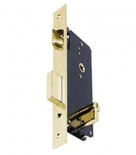 Κλειδαριά Export Ασφαλείας Χρυσή Ίσια K45mm-85mm