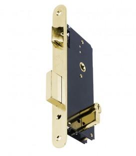 Κλειδαριά Export Ασφαλείας Χρυσή Οβάλ K45mm-85mm