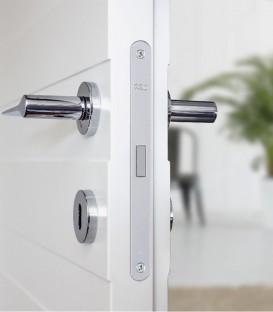 Κλειδαριά Μαγνητική Πόρτας Νίκελ Οβάλ K50-90mm