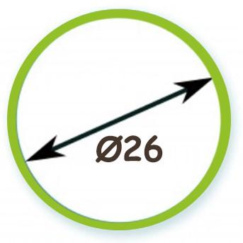 Διάμετρος Σωλήνα Φ26