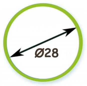 Διάμετρος Σωλήνα Φ28