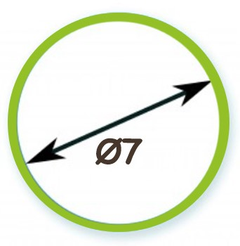 Διάμετρος Σωλήνα Φ7