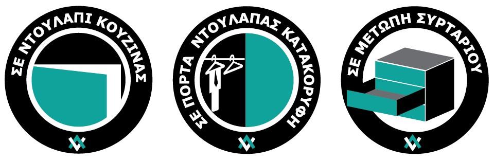 Buyforhome.gr Λαβές Χούφτες Αλουμινίου Varial